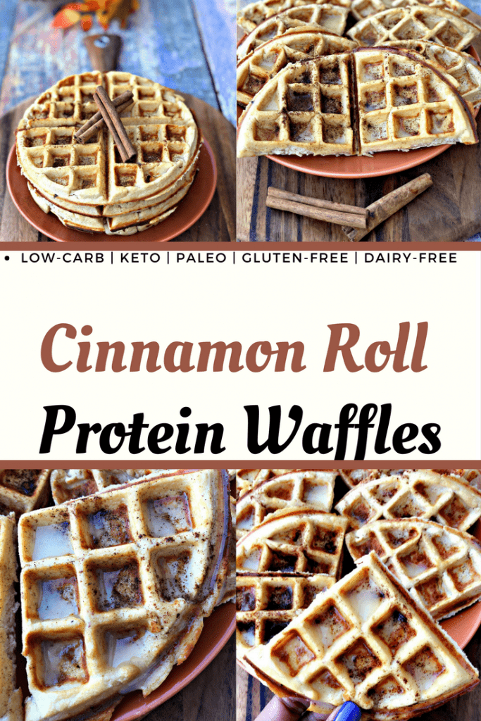 low carb gluten free protein waffles