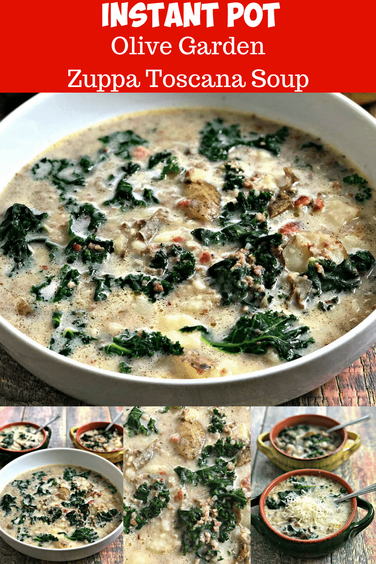 Instant pot or slow cooker olive garden zuppa toscana soup - Olive garden zuppa toscana crock pot ...
