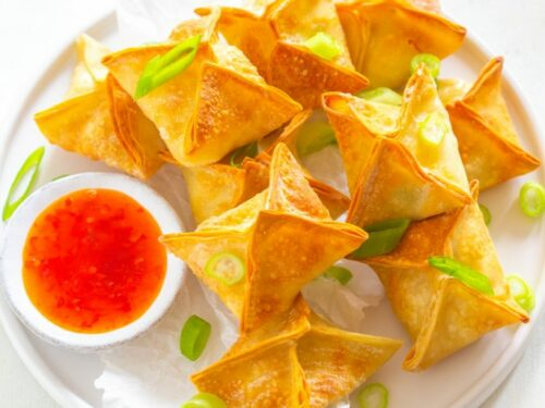 Air Fryer Crispy Crab Rangoon