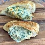 Easy, Low-Carb Keto Spinach Cream Cheese Stuffed Chicken