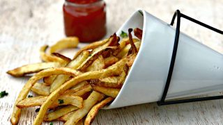 Easy Air Fryer Homemade Crispy French Fries