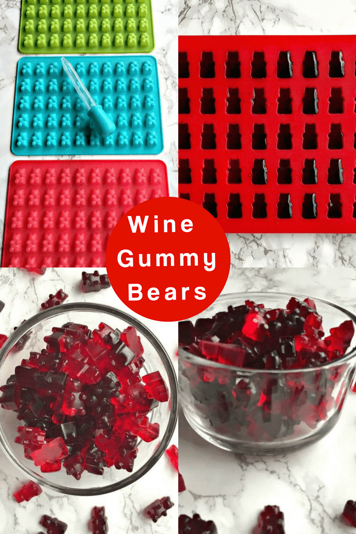 Wine Filled Gummy Bears make the perfect treats for summer, holidays, Christmas, Thanksgiving, parties, and events. This how-to recipe is quick and easy! These alcohol filled candy gummies are made using jell-o. Serve them as jello-shots for gatherings!