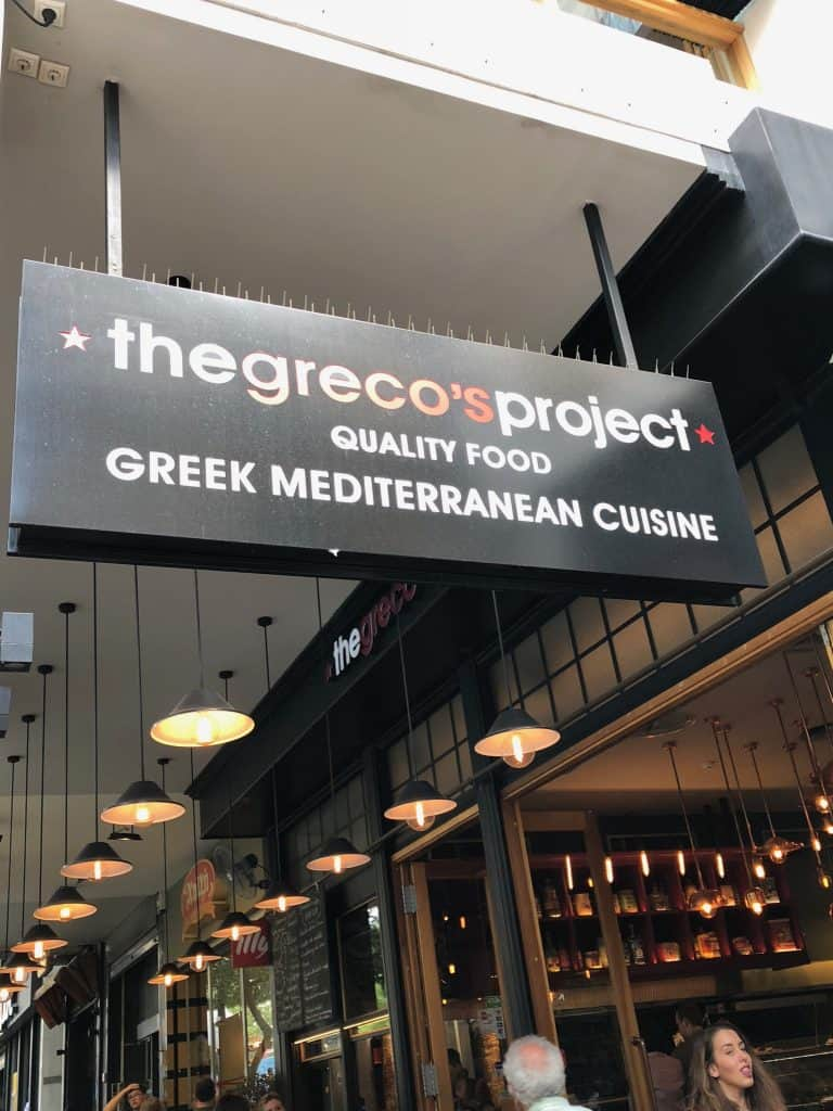 greco project greece