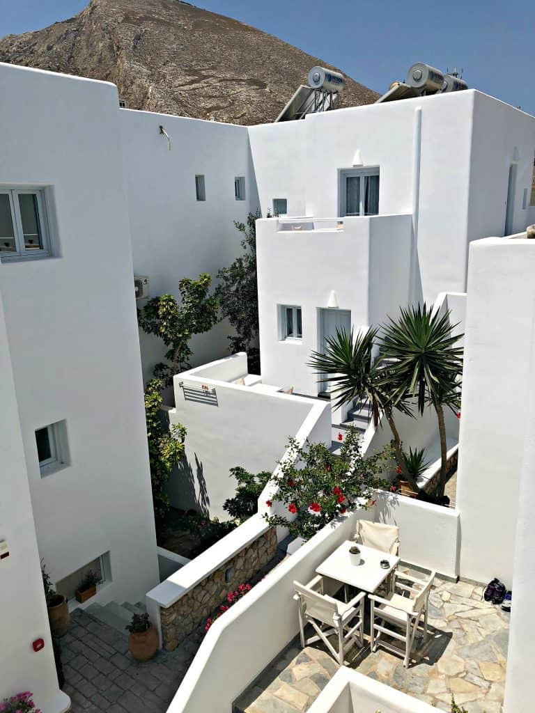 santorini apartment hotel