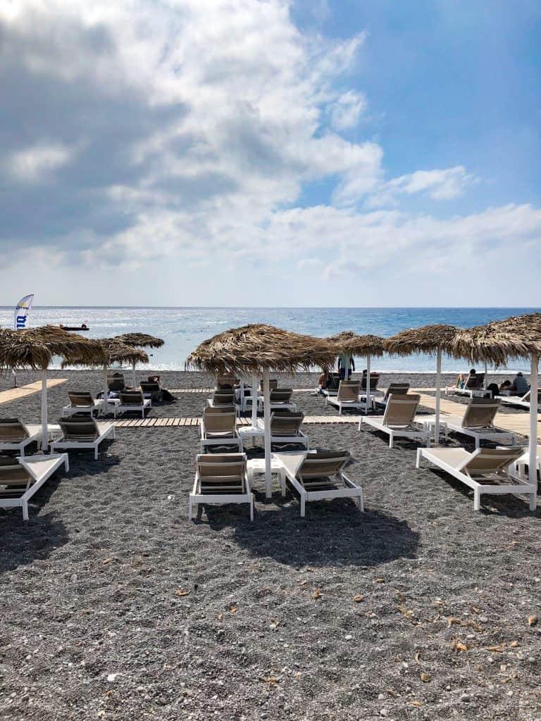 santorini black beach
