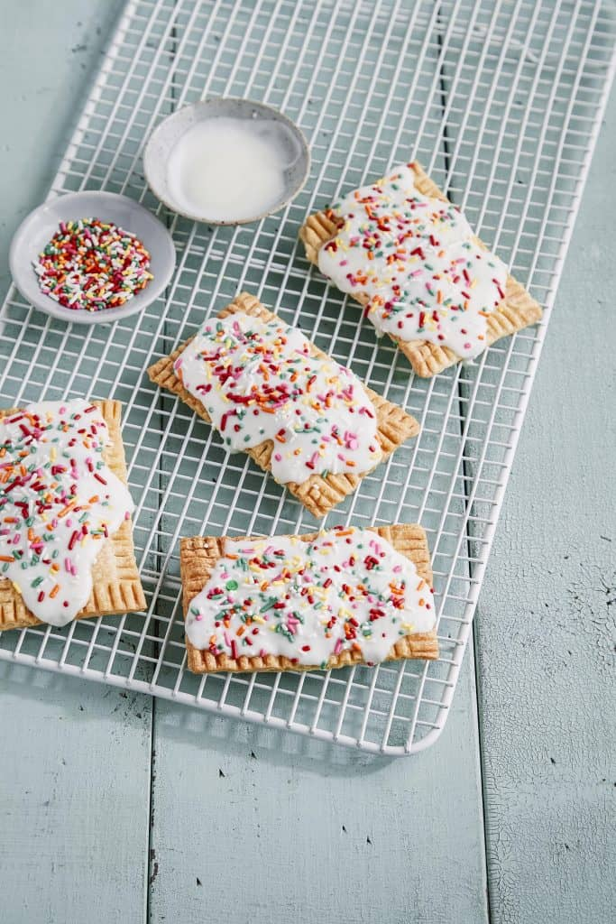 air fryer Cherry Breakfast Tarts