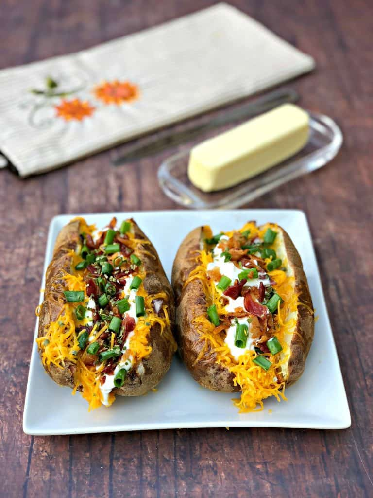 Easy Air Fryer Baked Potatoes Video