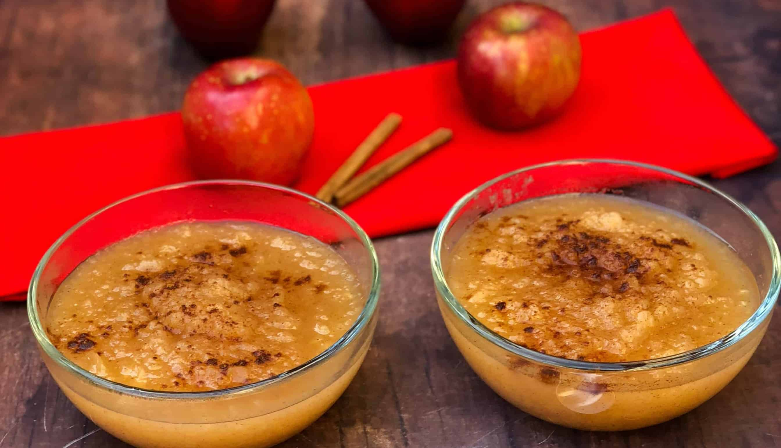 instant pot applesauce with fresh apples