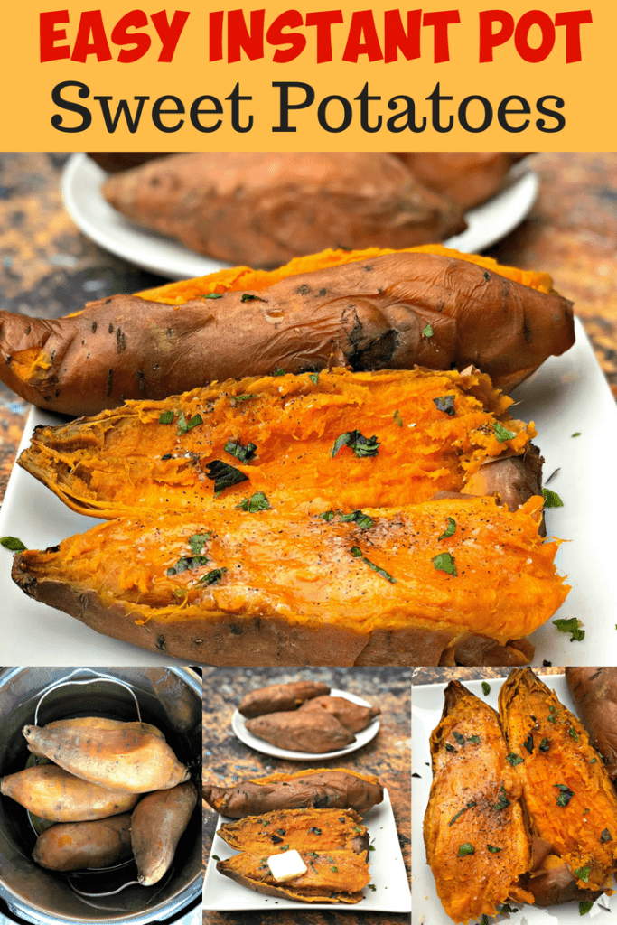 instant pot sweet potatoes