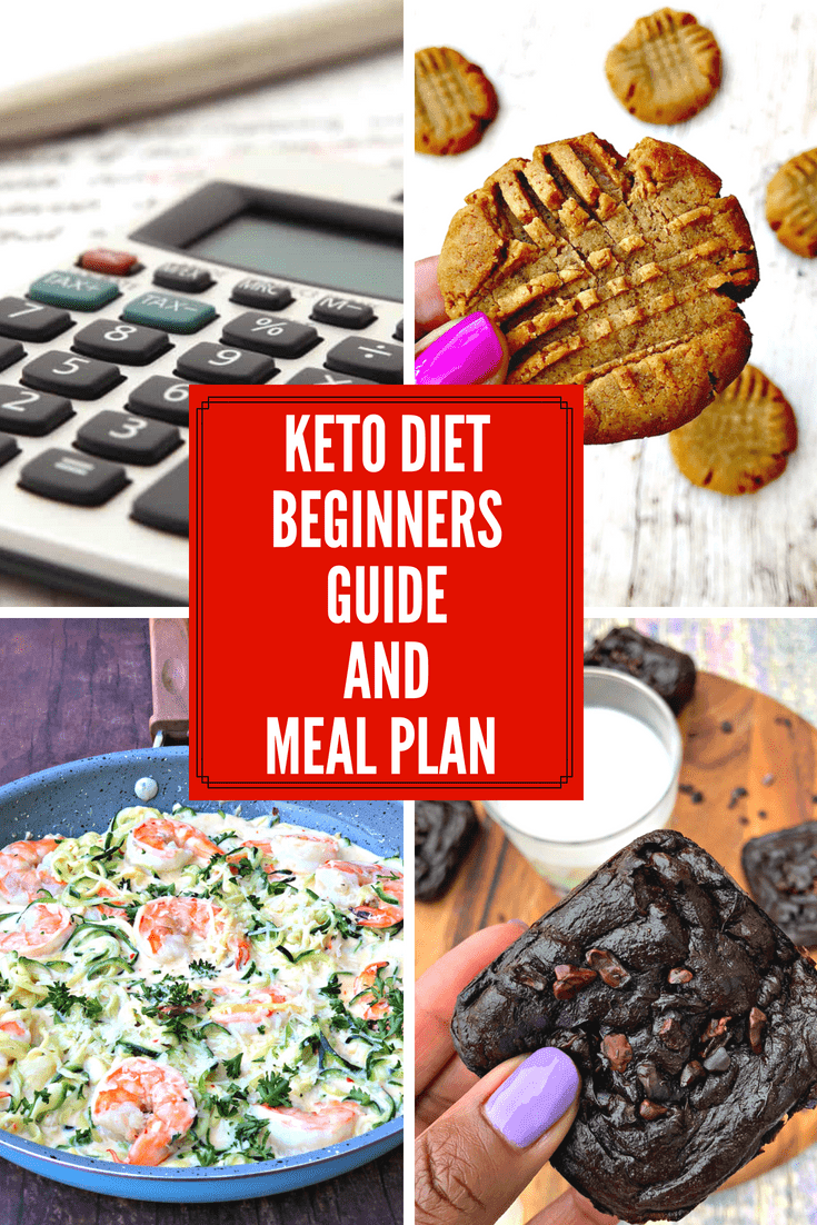 Low Carb and Keto Meal Plans: How to Start a Keto Diet is a comprehensive guide on how to get into ketosis fast, cure the keto flu, and how to stay in ketosis. This guide includes a macros calculator and listing of example breakfast, lunch, dinner, snacks, and desserts to consume to maximize a ketogenic lifestyle. #Keto #KetoDiet #MealPlans