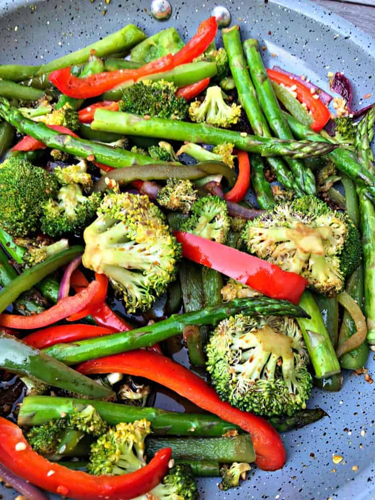 Low Carb Ginger Garlic Vegetable Stir Fry