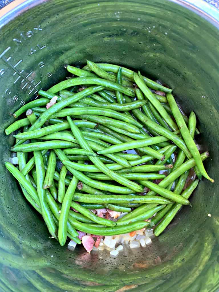 fresh green beans in instant pot