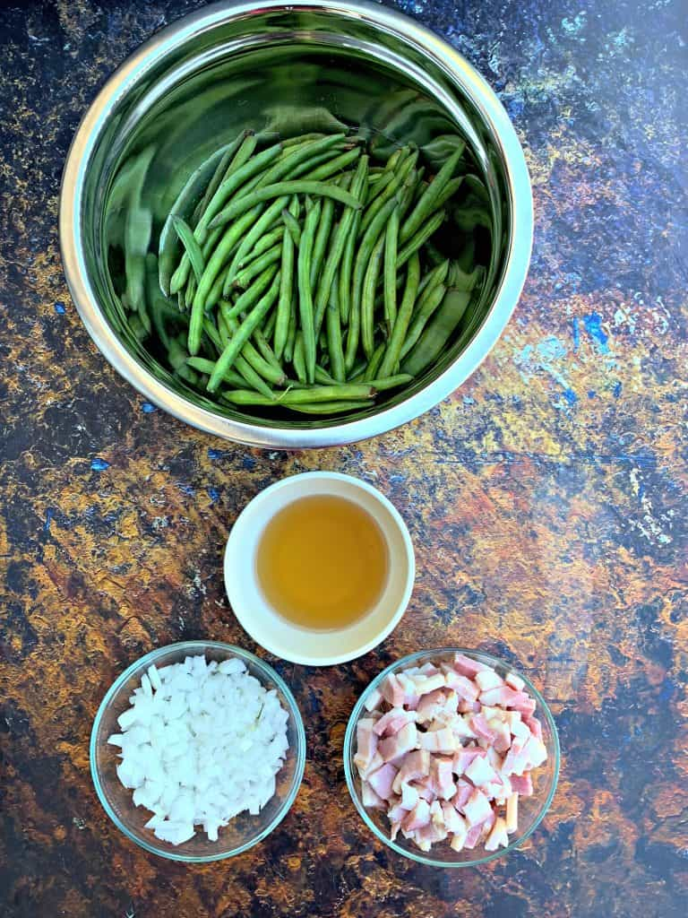 ingredients for instant pot green beans