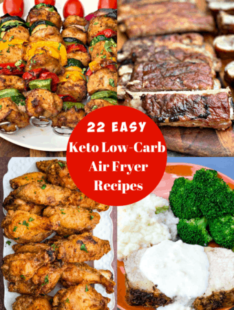 keto low carb air fryer recipes