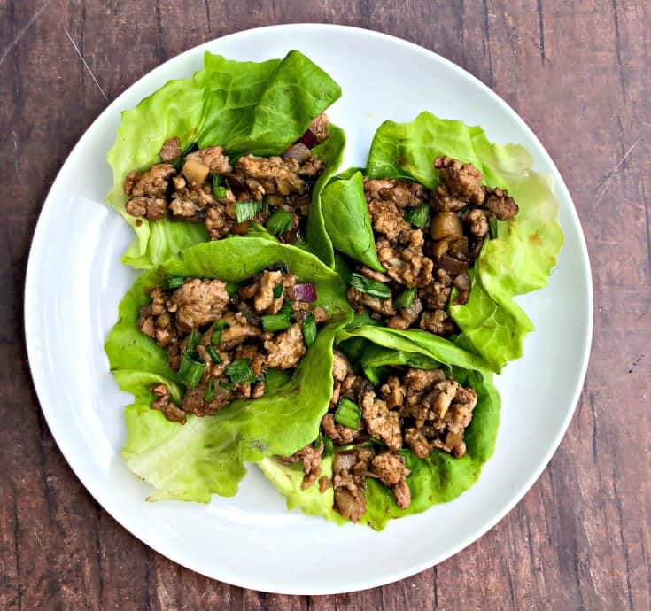 Easy, Keto Low-Carb PF Chang's Chicken Lettuce Wraps