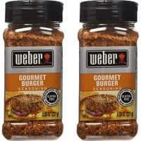 Weber Gourmet Burger Seasoning - 2 Pack