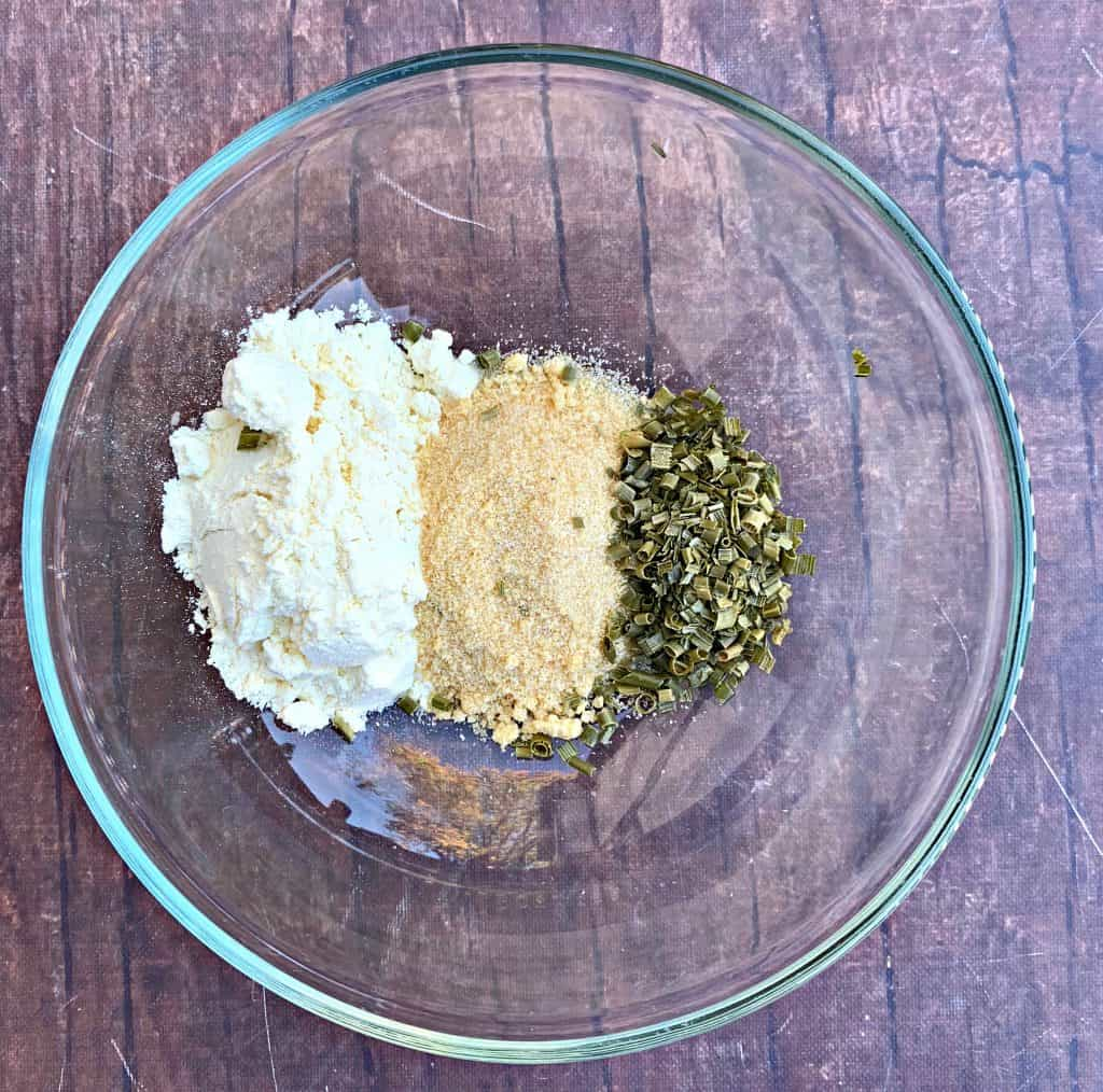 sour cream and onion seasoning in a bowl