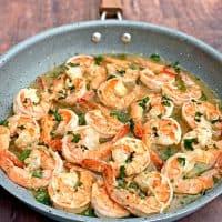 Easy Keto Low-Carb Red Lobster Copycat Shrimp Scampi