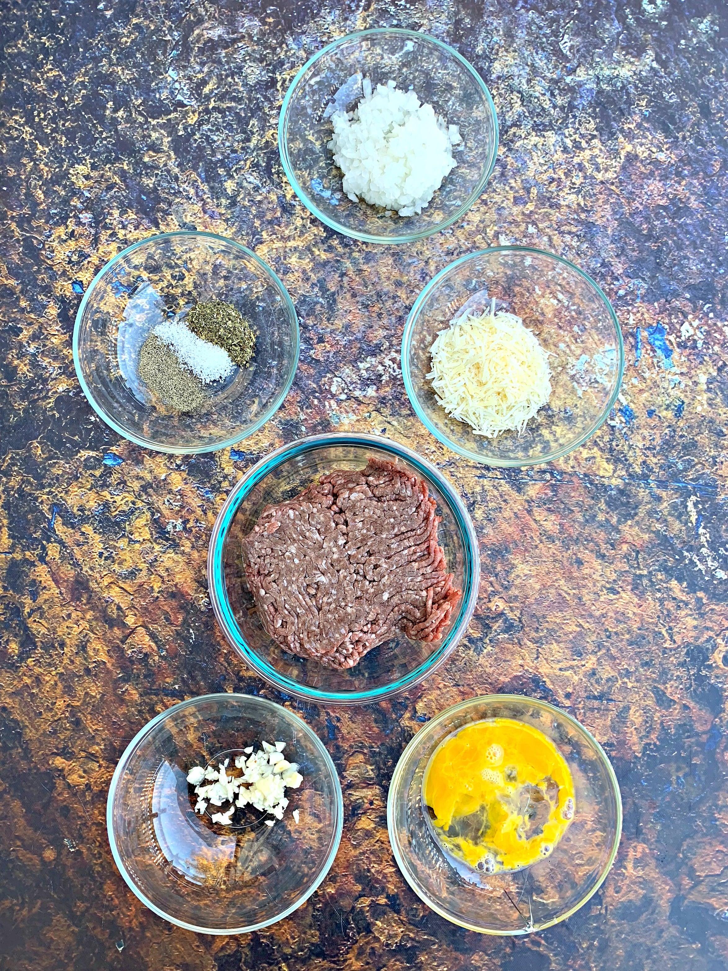 ingredients for keto low carb spaghetti squash marinara