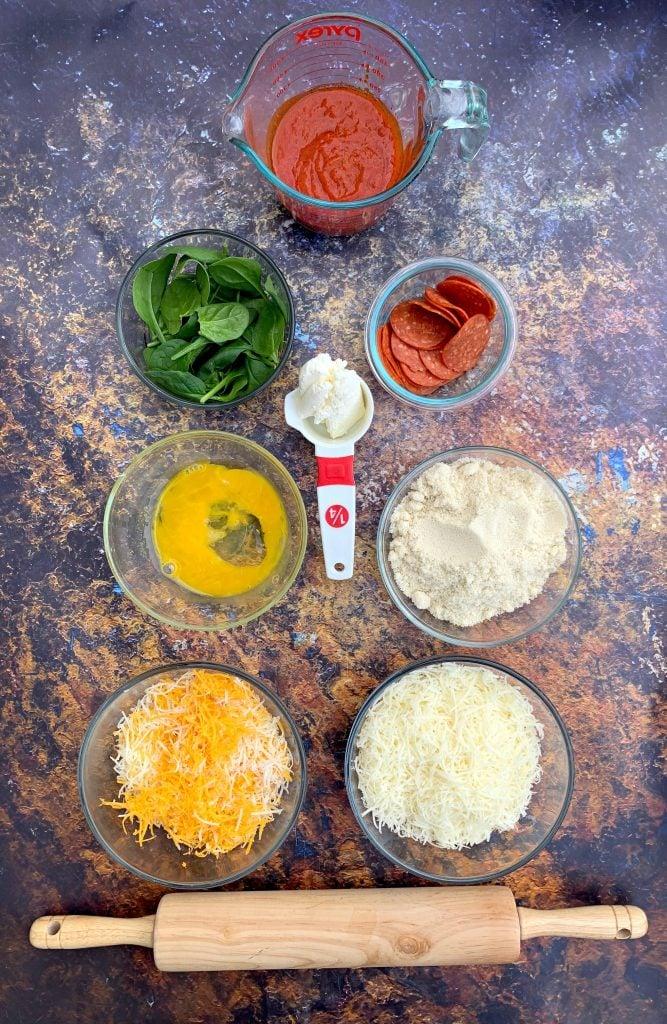 keto pepperoni pizza ingredients