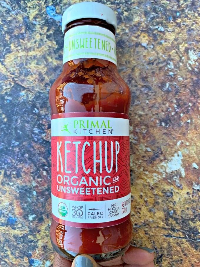 primal kitchen unsweetened ketchup