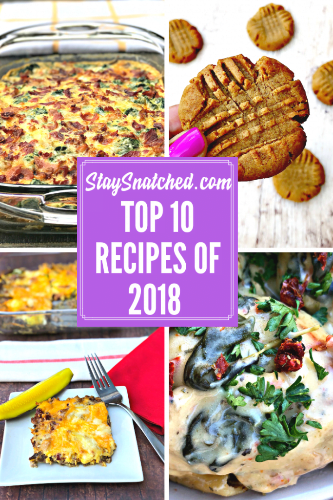 stay snatched top recipes of 2018