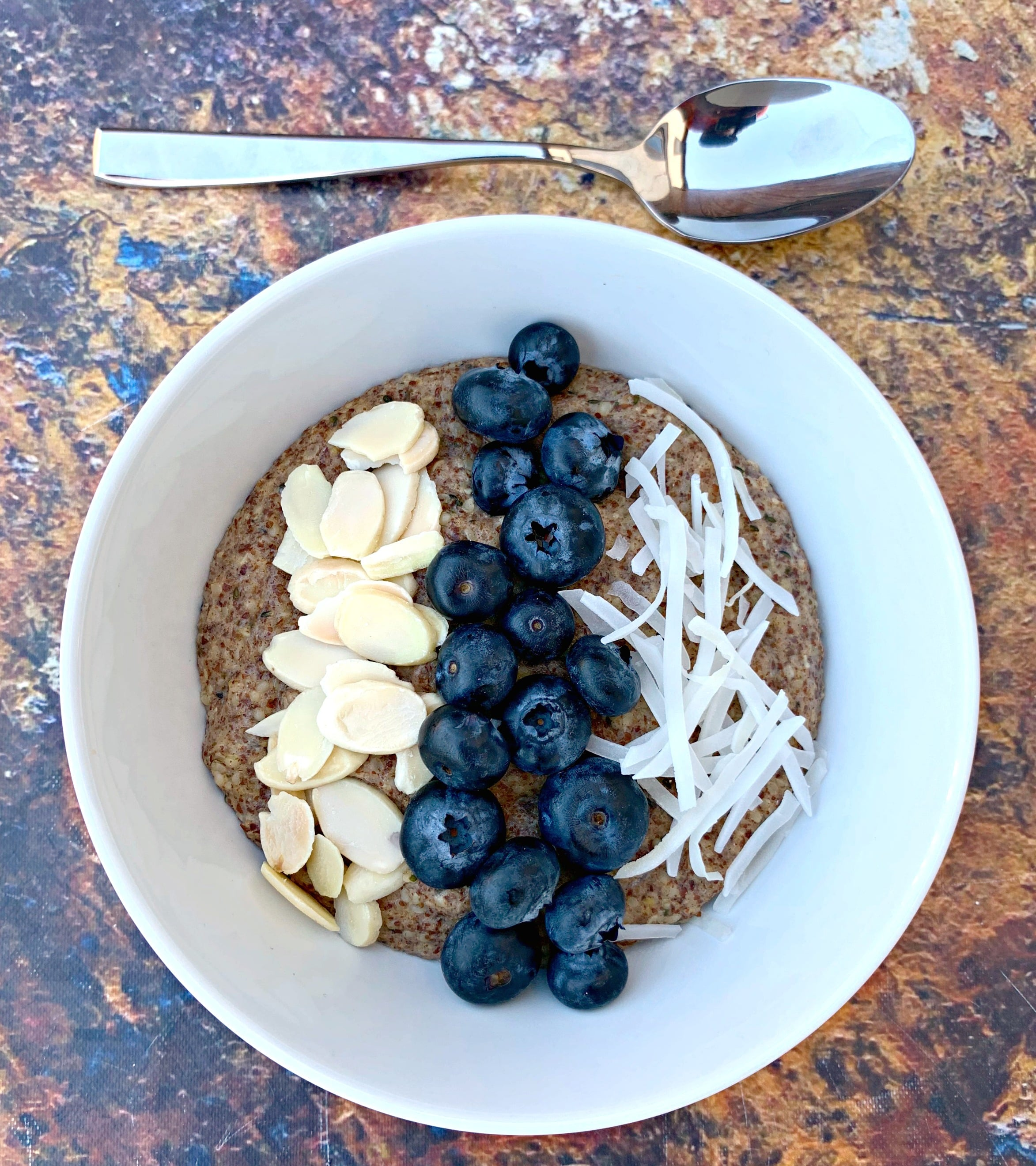 Easy Keto Low Carb Blueberry Oatmeal Video