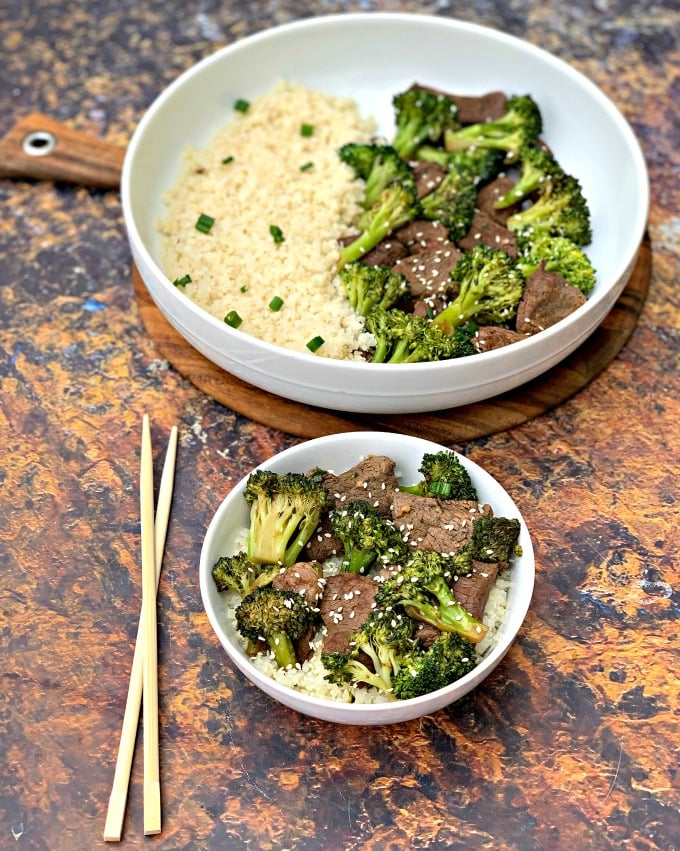 Keto Low Carb Chinese Beef and Broccoli Stir Fry (Paleo + Dairy-Free)