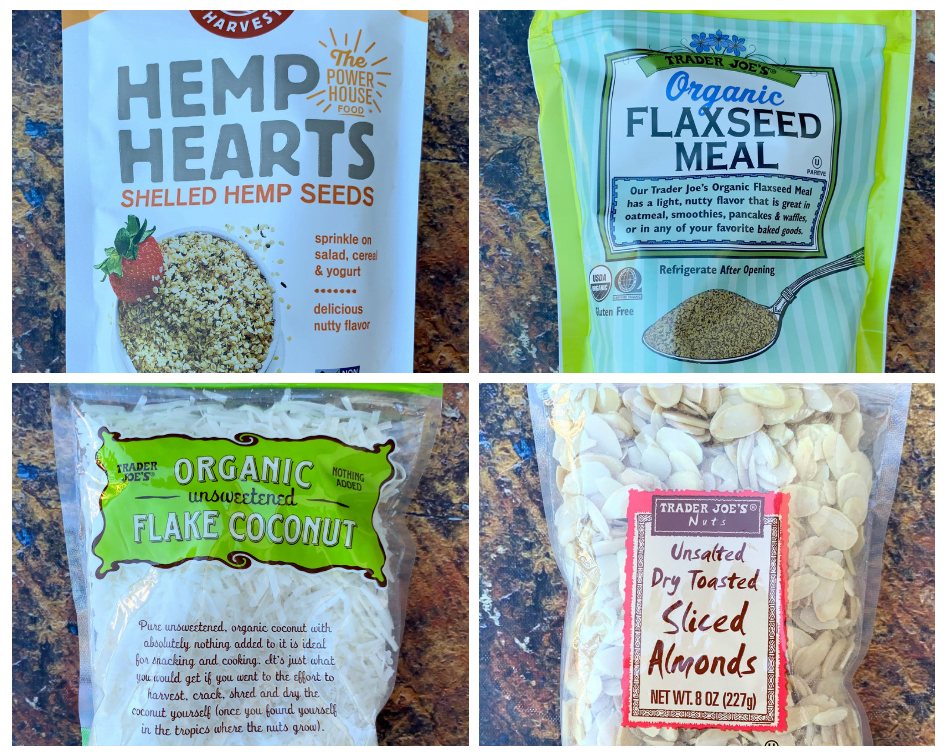 keto hemp oatmeal ingredients