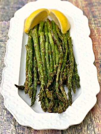 Quick and Easy Air Fryer Roasted Asparagus