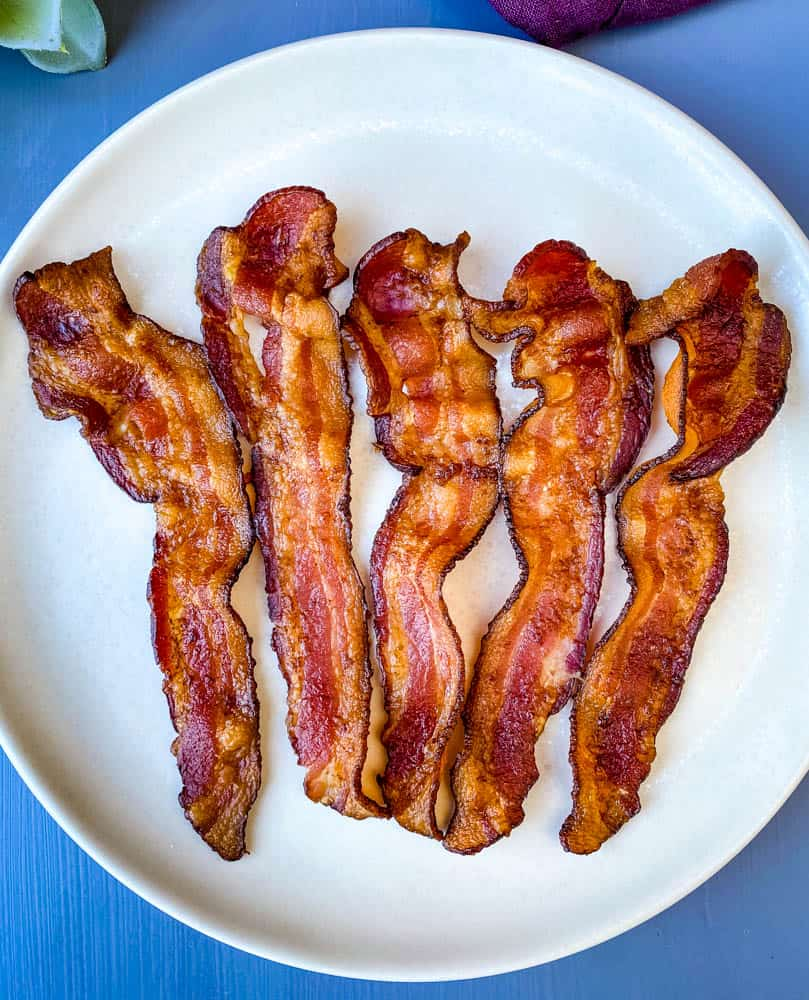 Easy, Crispy, and Perfect Air Fryer Bacon