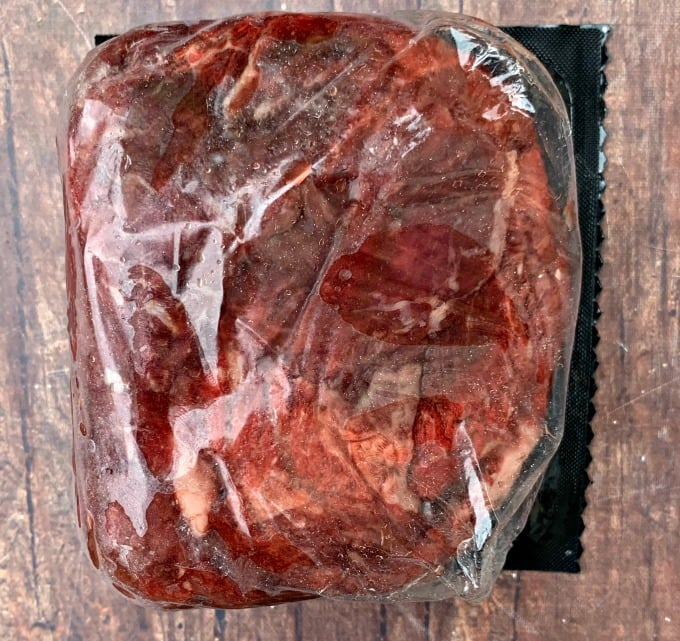 butcher box sirloin steak tips in packaging