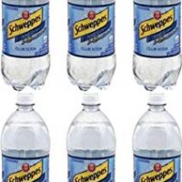Schweppes Club Soda, 33.8 Oz Bottle (Pack of 6, Total of 202.8 Oz)
