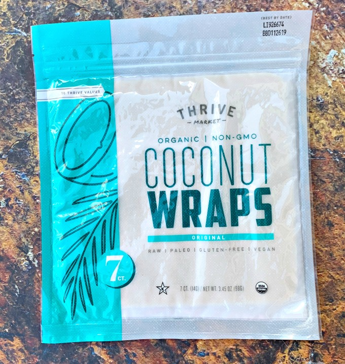 thrive market coconut wraps