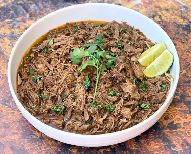 Instant Pot Barbacoa Beef (Keto and Low-Carb Chipotle Copycat)
