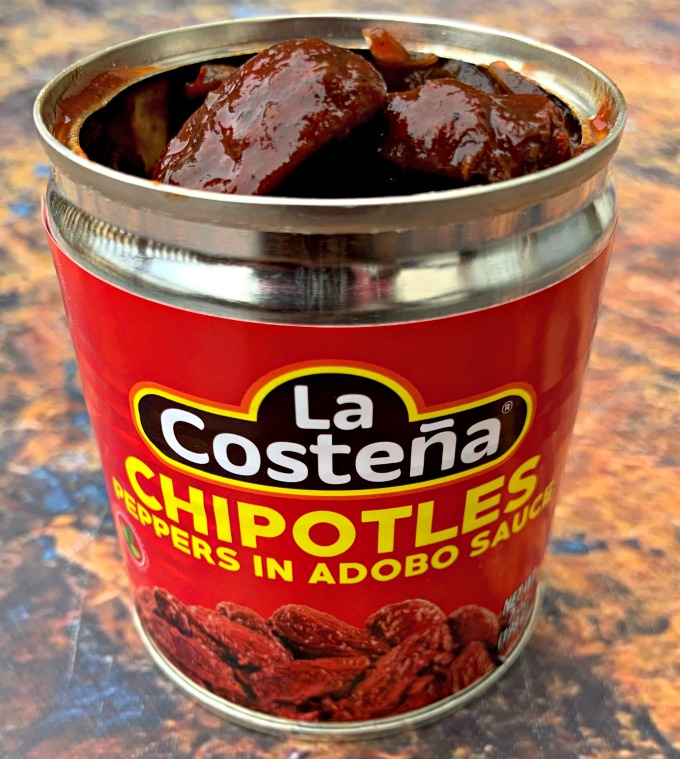 chipotles in adobo sauce in a can