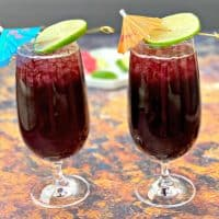Easy Keto Low-Carb Red Sangria Wine Cocktails