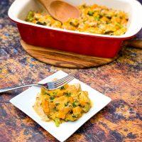Keto Low-Carb Chicken Broccoli Cheese Casserole