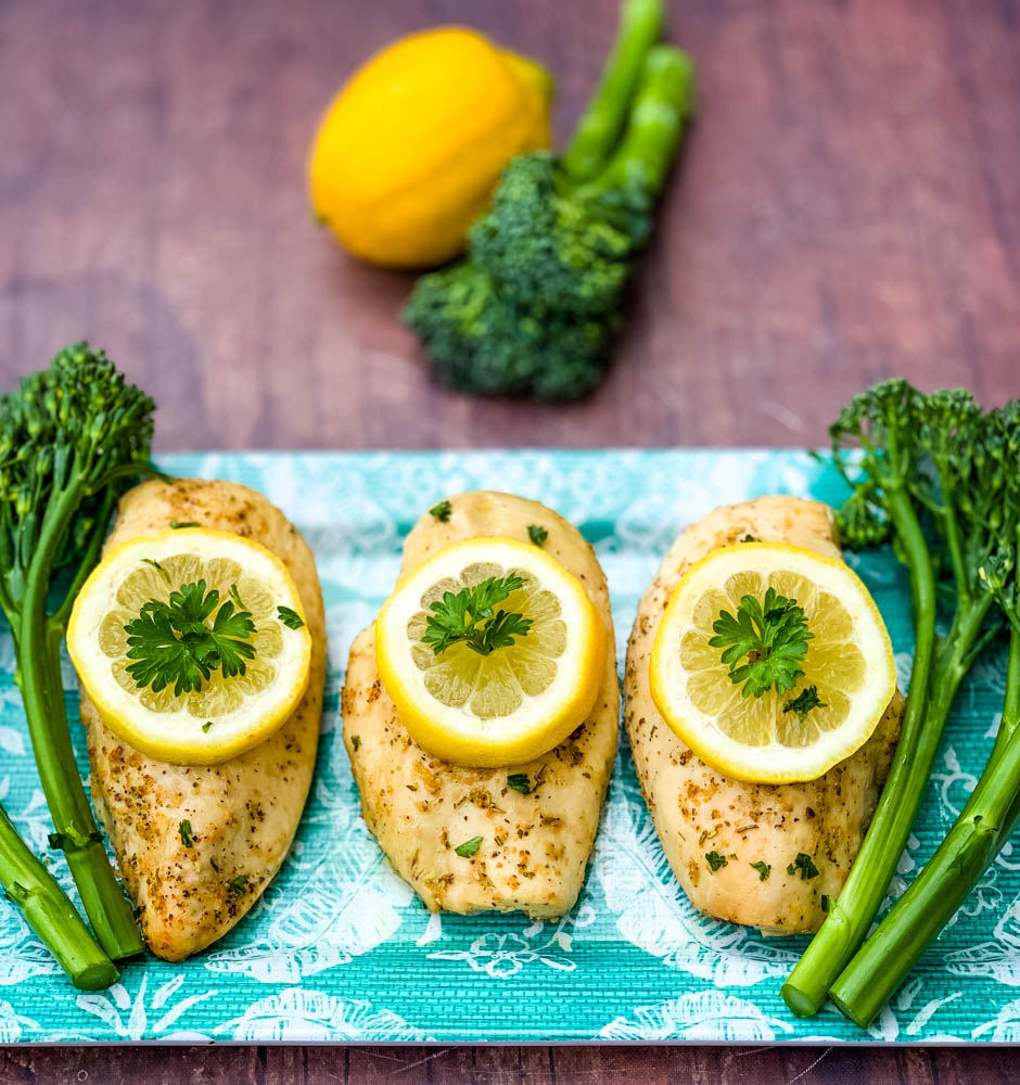 Air Fryer Chicken Breast Lemon Garlic Video