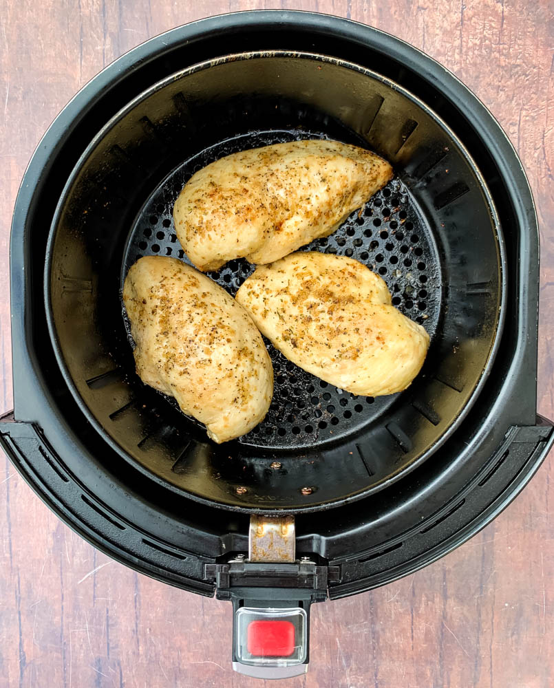 Air Fryer Chicken Breast (Lemon Garlic) + {VIDEO}