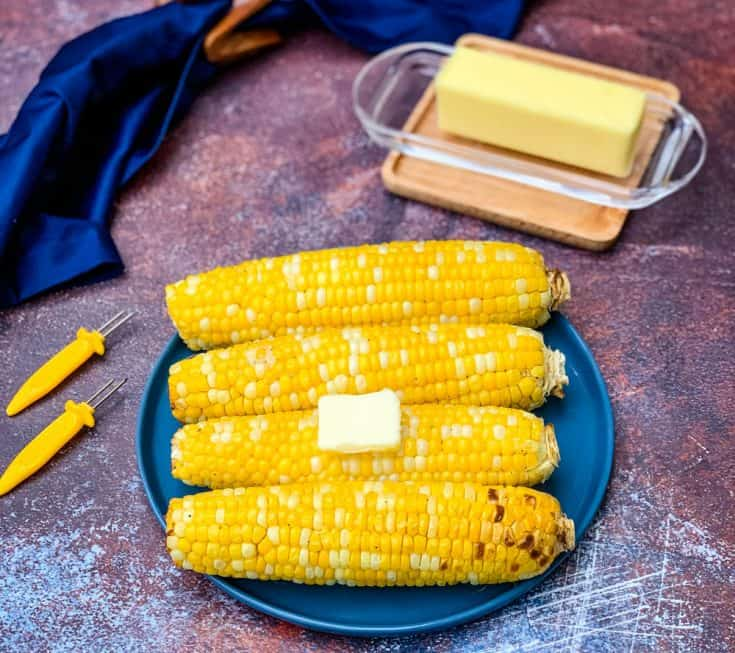 Quick and Easy Air Fryer Corn on the Cob