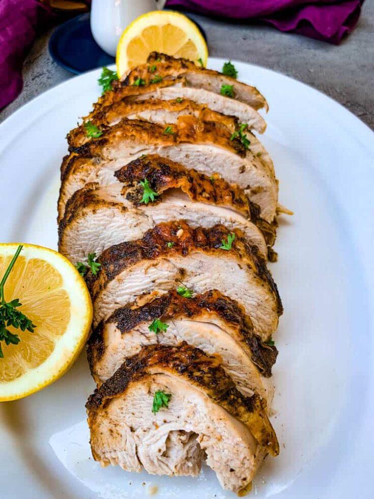 Easy Air Fryer Turkey Breast