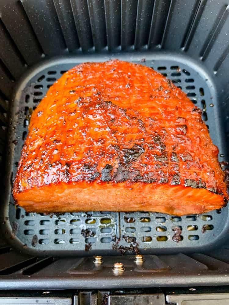 boneless ham in an air fryer