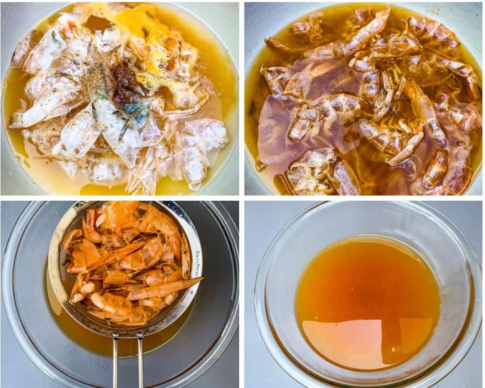 seafood stock for shrimp etouffee