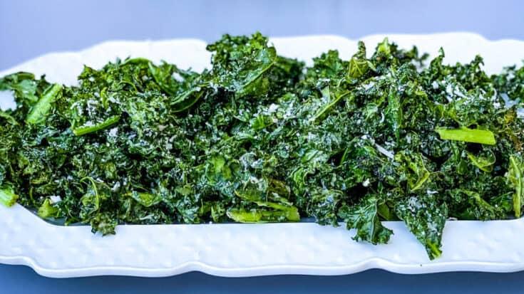 Easy Air Fryer Kale Chips