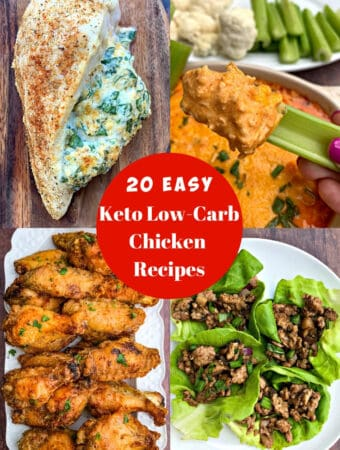 keto low carb chicken recipes