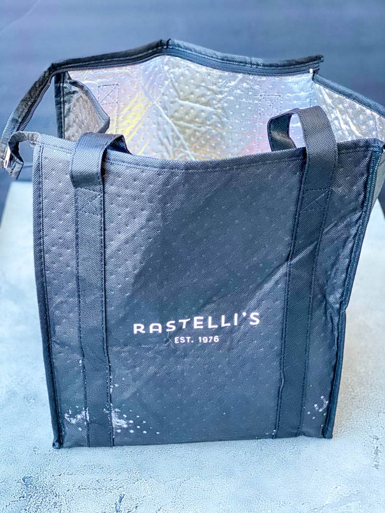 rastelli meat delivery bag