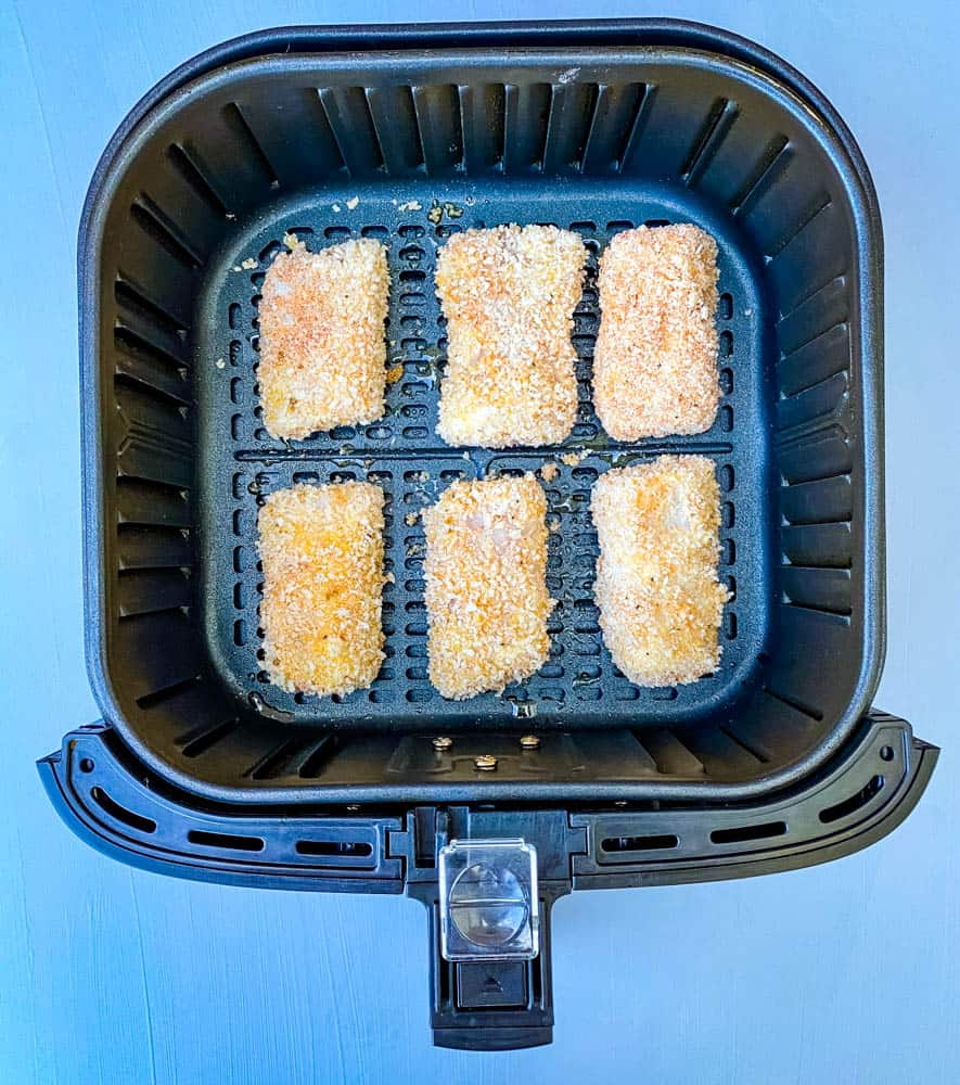 breaded fish sticks in air fryer