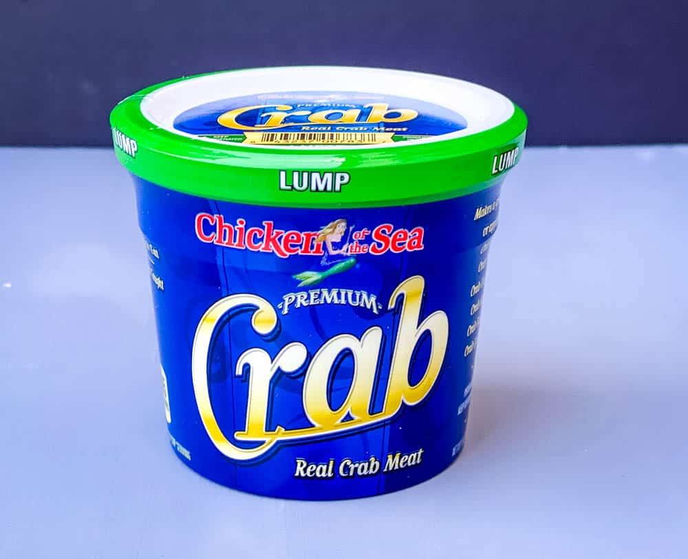 real lump crab meat in a can