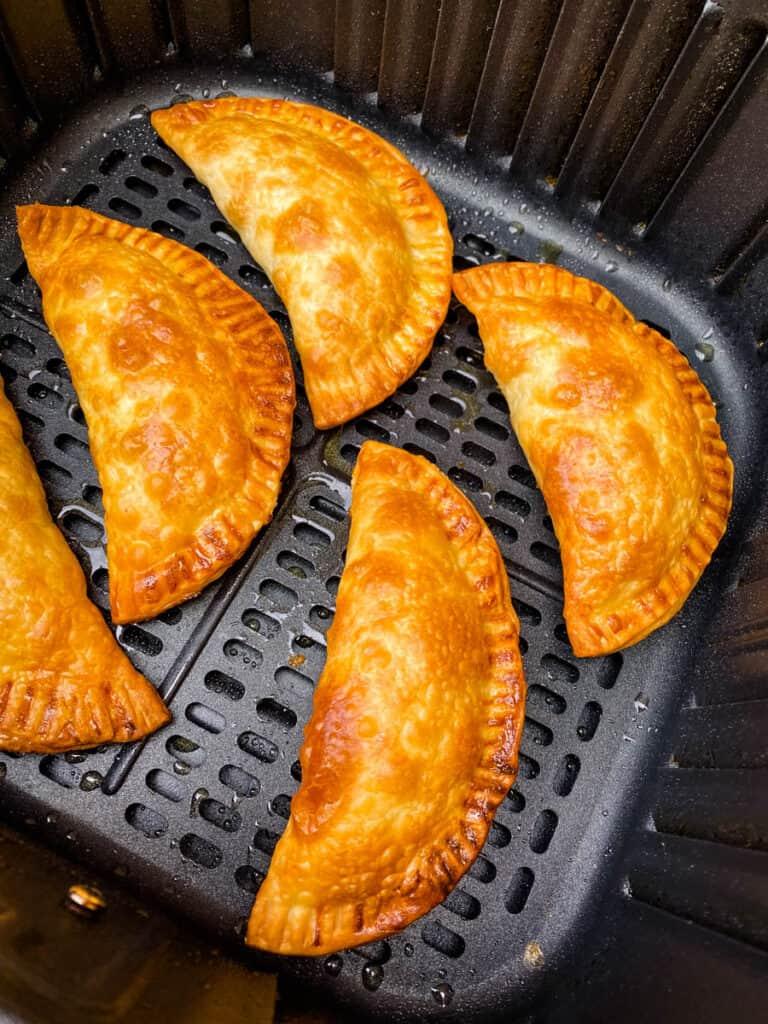 cooked empanadas in air fryer